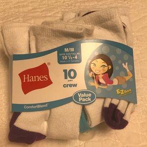 Hanes tall socks (10 pack)